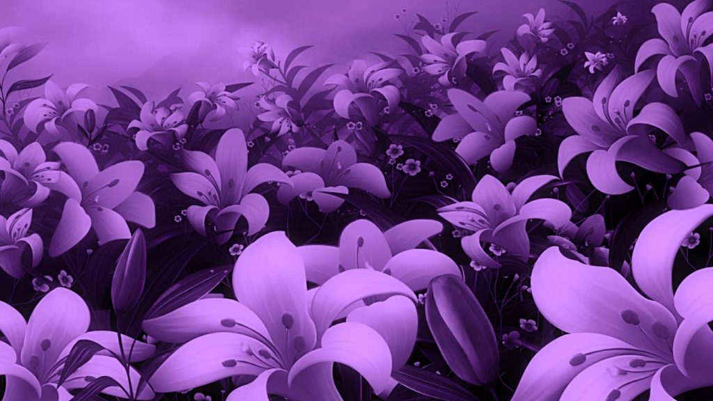 beautiful-purple-flowers-wallpaper-PIC-MCH045085-1024x576 Pretty Flowers Wallpapers 32+