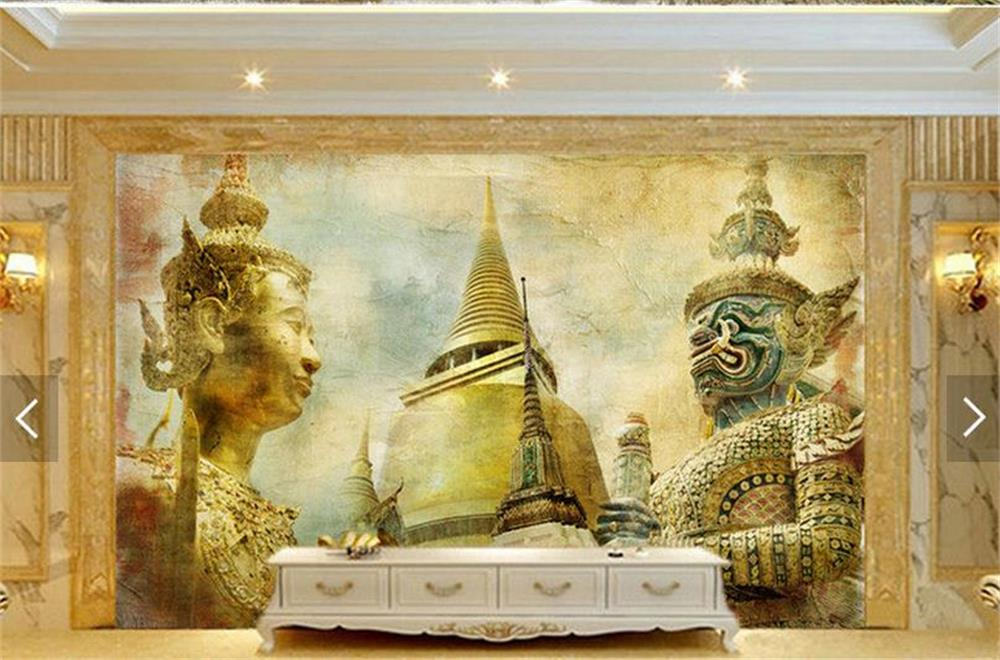custom-photo-wallpaper-d-Non-woven-wallpaper-India-style-nostalgia-mural-TV-sofa-bedding-room-KTV-PIC-MCH055212 Non Woven Wallpaper India 15+