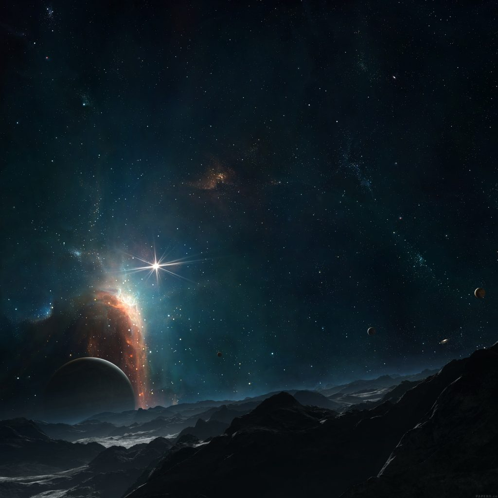 dark-space-sky-planet-nature-art-wallpaper-PIC-MCH056583-1024x1024 Hd Galaxy Wallpapers For Android 34+