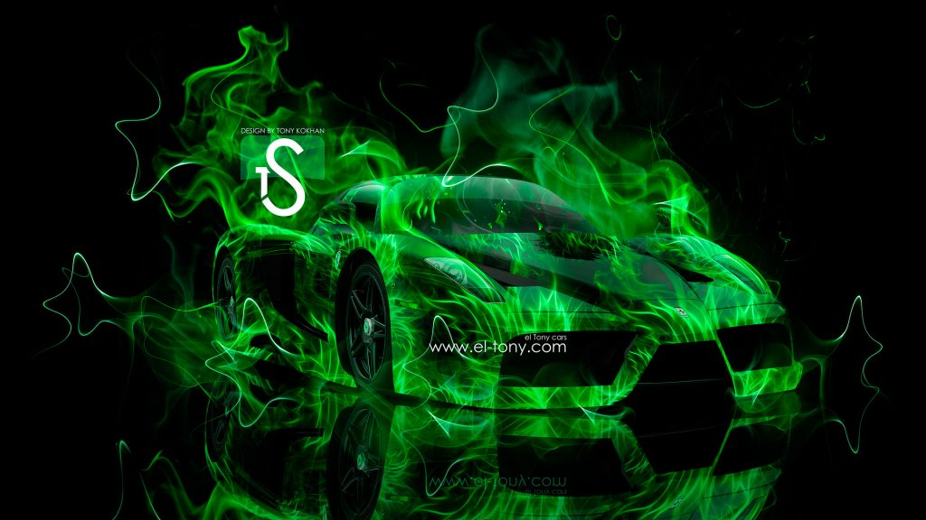 ferrari-enzo-green-fire-car-abstract-smoke-hd-wallpapers-design-PIC-MCH063628-1024x576 Cool Green Car Wallpapers 29+