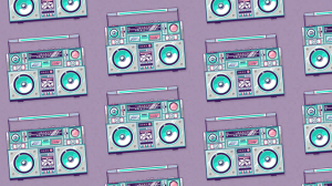 Wallpaper Ghetto Blaster 19+