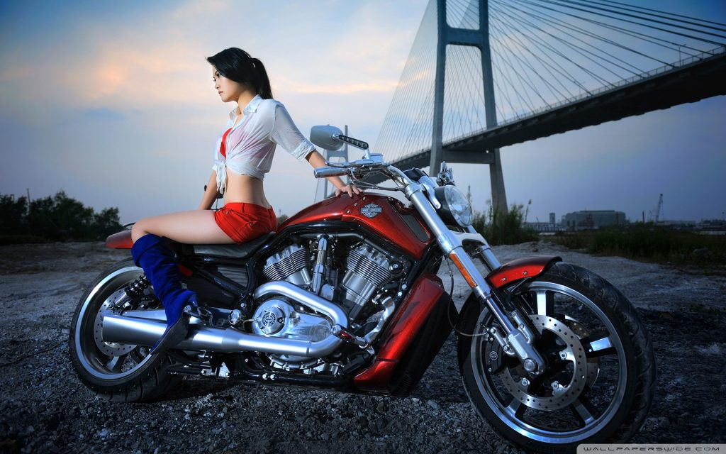 harley-davidson-with-model-PIC-MCH071135-1024x640 Harley Davidson Wallpapers For Android 25+