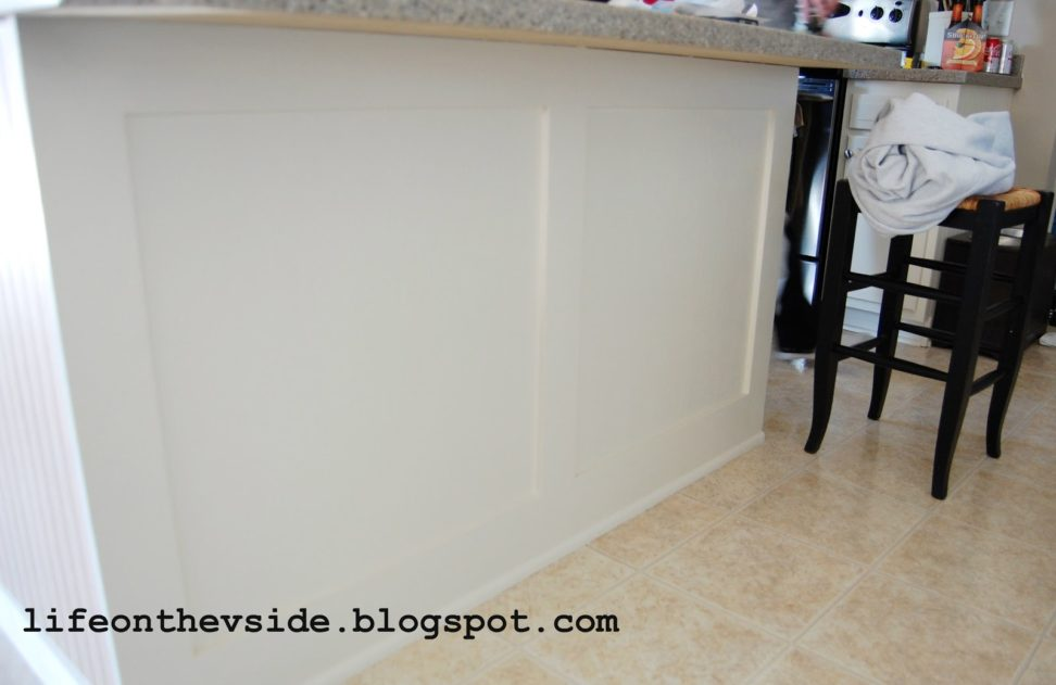 how-to-apply-beadboard-wallpaper-to-kitchen-island-beadboard-kitchen-island-how-to-install-beadboar-PIC-MCH073908 Black Beadboard Wallpaper 12+