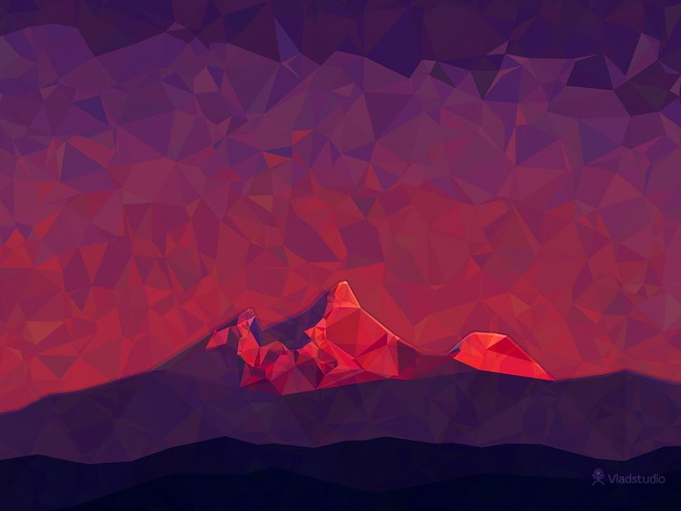 low-poly-hills-color-wallpaper-middle-size-PIC-MCH083655 Low Poly Wallpaper 4k 29+