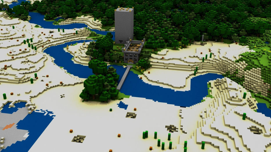 modern-cool-house-hd-wallpapers-p-download-wallpaper-x-minecraft-house-bridge-river-PIC-MCH087024 Minecraft Hd Wallpapers 1080p 34+