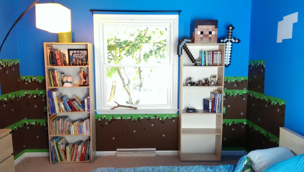 need-ideas-for-real-life-minecraft-design-room-discussion-bedroom-border-themed-wallpaper-block-ire-PIC-MCH089344-1024x579 Minecraft Creeper Bedroom Wallpaper 7+