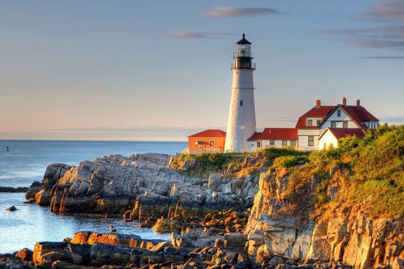 new-england-wallpaper-x-pc-PIC-MCH036246 Christmas Lighthouse Wallpapers 32+