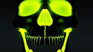 Cool Green Skull Wallpapers 30+