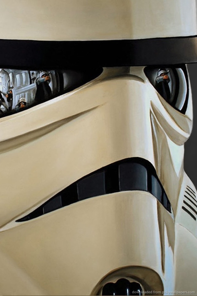 stormtrooper-with-reflections-PIC-MCH0104373 Star Wars Wallpapers Iphone 4 44+