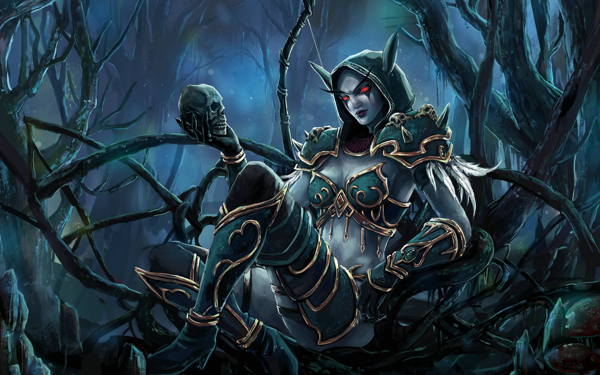 Sylvanas Windrunner Wallpaper Images PIC MCH0105435