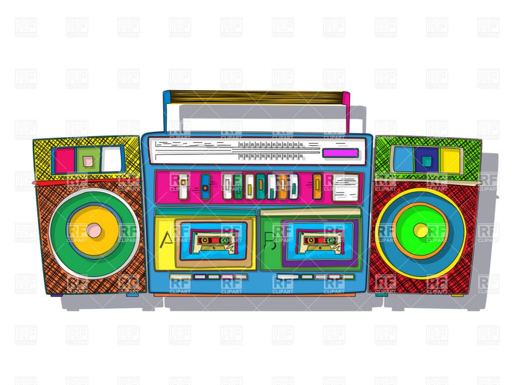 vintage-stereo-double-tape-cassette-player-pop-art-boombox-Download-Royalty-free-Vector-File-EPS-PIC-MCH0110360-1024x768 Wallpaper Ghetto Blaster 19+