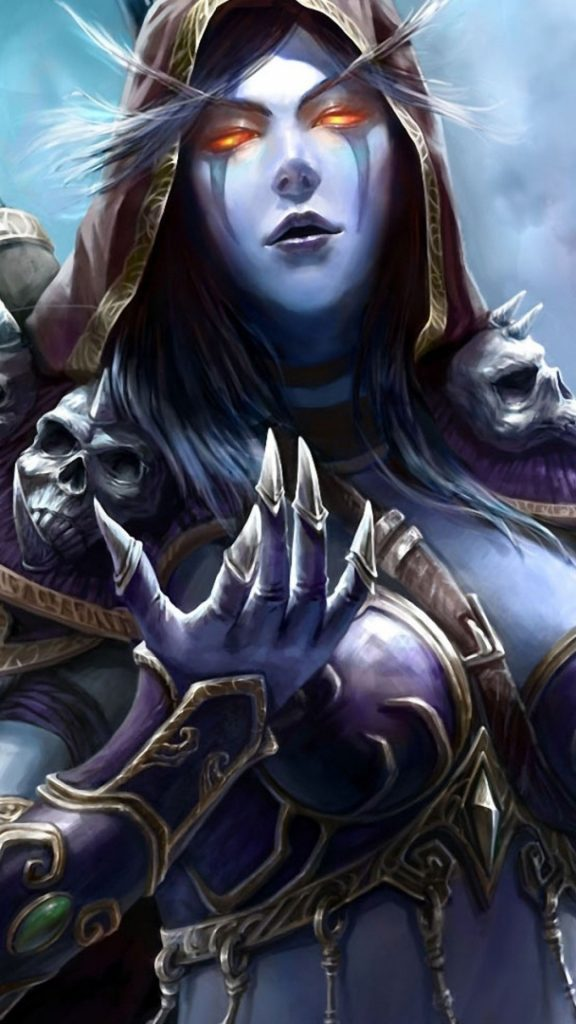 world-of-warcraft-sylvanas-windrunner-cape-fantasy-girl-PIC-MCH0117448-576x1024 Sylvanas Windrunner Iphone Wallpaper 37+
