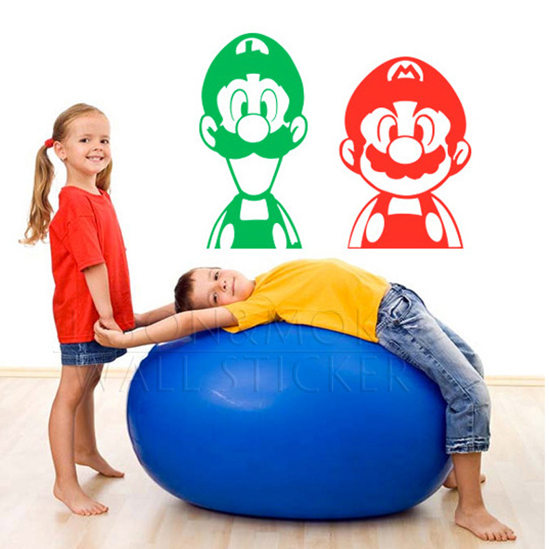 x-Super-font-b-Mario-b-font-Brothers-Luigi-Video-Game-Nintendo-Onesie-Wall-font-b-PIC-MCH013806 Mario And Luigi Bedroom Wallpaper 22+